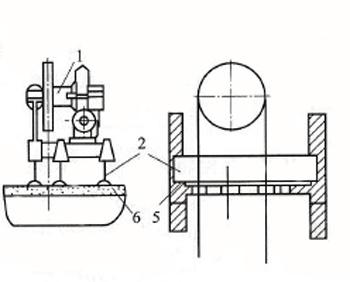 施工升降机曳引机安装图