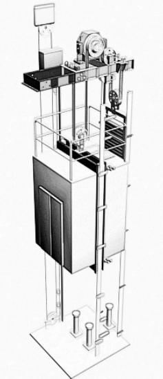 室内施工升降机